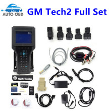 Without box for GM TECH2 Full Set Support 6 Software(for GM,OPEL,SAAB ISUZU,SU ZUKI,HOLDEN)G M Tech 2 Scanner+TECH2 with card