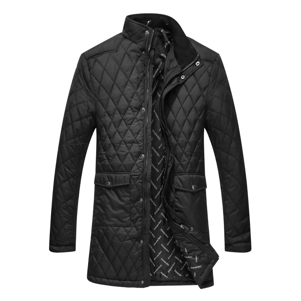Jacket mens 2016 new style of long style soft cotton comfort fashion criss-cross design keep warming outerwear BillionaireОдежда и ак�е��уары<br><br><br>Aliexpress