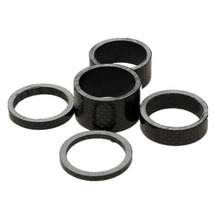 5Pcs MTB Mountain Bike 3 5 10 15 20mm Carbon Fibre Front Fork Bowl Series Headset Washer Road Bicycle Headparts Backup Ring