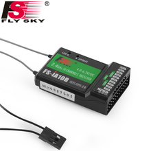 Flysky FS-IA10B Fly Sky 2.4G 10 channel Receiver PPM Output With iBus Port Compatible with FS-i6 FS-i6S FS-i10 For Quadcopter(China)