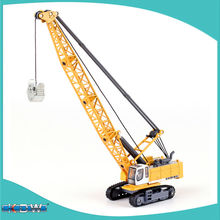 KAIDIWEI alloy engineering vehicle model 1:87 tower cable digging truck crane toy factory simulation children
