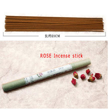 Natural Rose JASMINE Floral Incense Stick Fragrance 10gram Scent Aromatherapy Fresh Air Jasmine Aroma Spice(China)