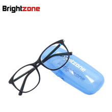 Professional Anti-blue Ray Radiation Anti-fatigue Anti-UV Aspheric Lenses Clear Yellow Indoor Eyewear Computer Gaming Glasses
