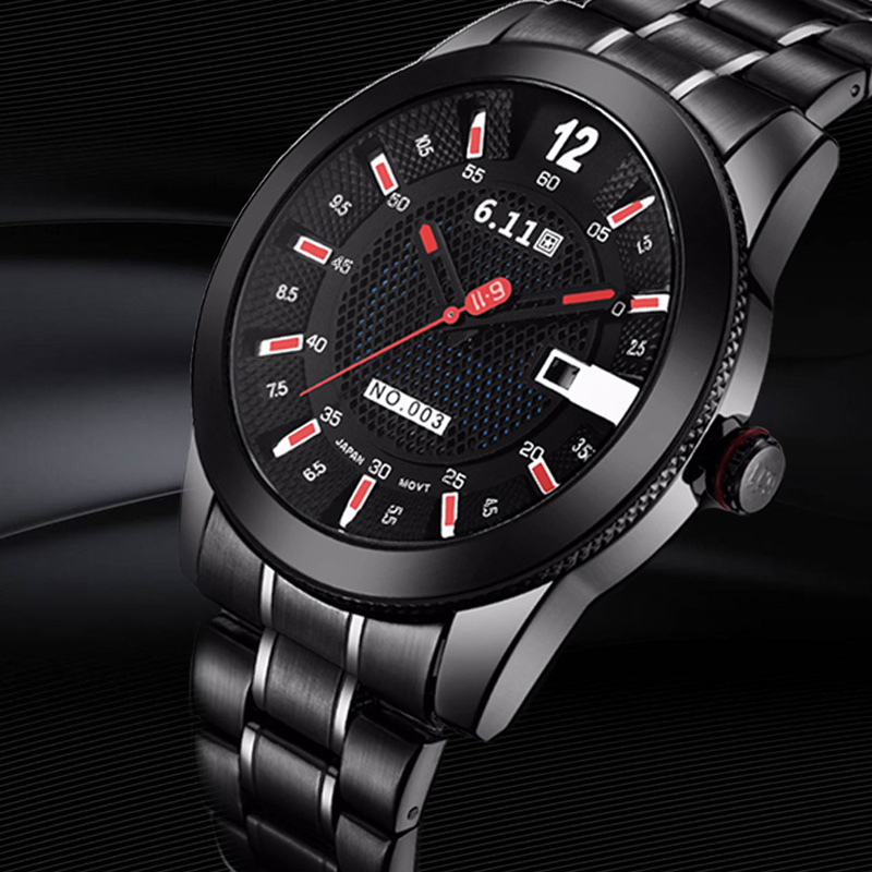 Men Fashion Sport Quartz Wristwatch Mens Watches Top Brand Luxury Full Steel Business Waterproof Watch Relogio Masculino Clock<br>