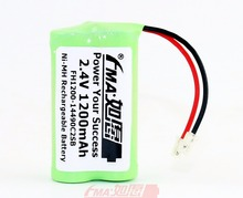 Ni-MH 2.4V 1200mAh Rechargeable Battery for Cordless DECT Phone replace GP T449 80AAM2BMU 2SB(China)