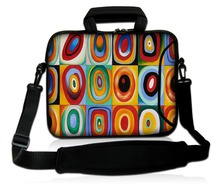 "neoprene laptop shoulder sleeve bag waterproof laptop bag cover case for 15"" 15.6"" Dell HP ASUS computer bag tablet case"