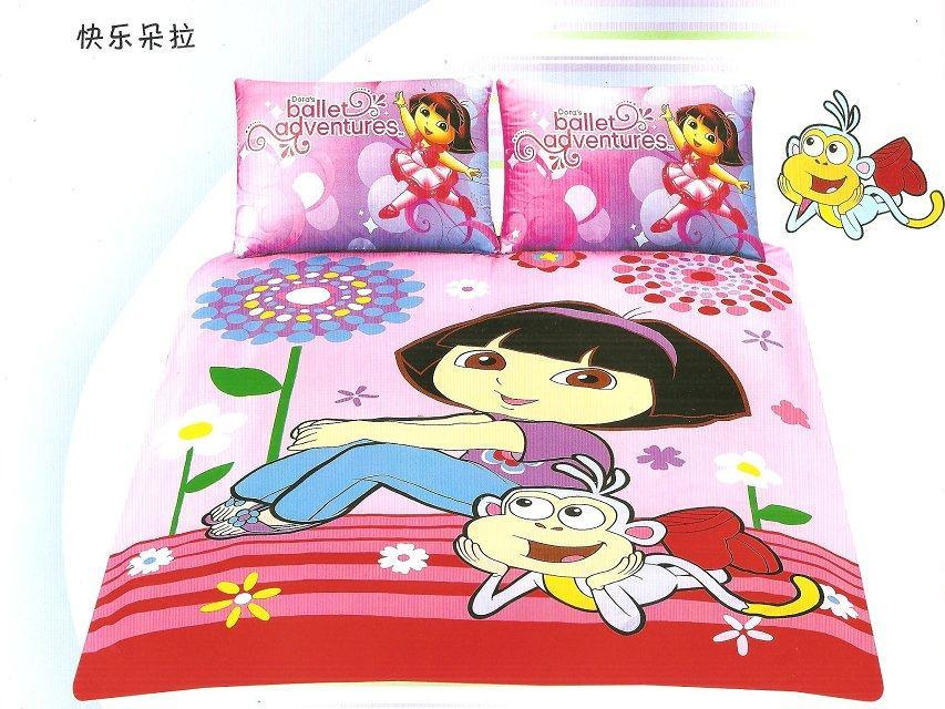 Ballet Adventure Dora The Explorer Bedding Bedlinen Sets 39 S Kids Bedspreads Single