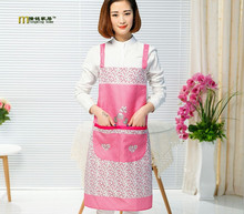 1PC LONGMING HOME Cooking Aprons Funny Novelty BBQ Party Apron Polyester Apron Lovely Rude Cheeky Kitchen Cooking Apron LB 405(China)