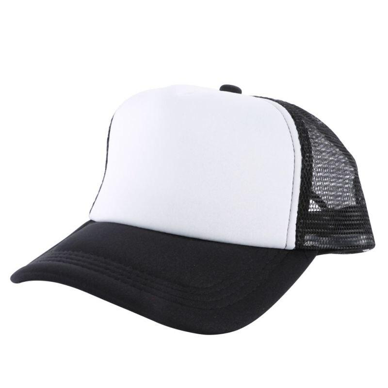 Unisex Casual Men Women Summer Hat Solid Baseball Cap Trucker Mesh Blank Visor Hats Adjustable<br><br>Aliexpress