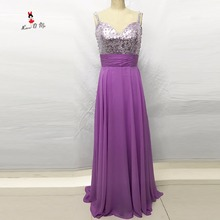 Vestidos Para Festa de Casamento Silver Sequined Lavender Bridesmaid Dresses for Weddings Long Party Dress Pearls Floor Length