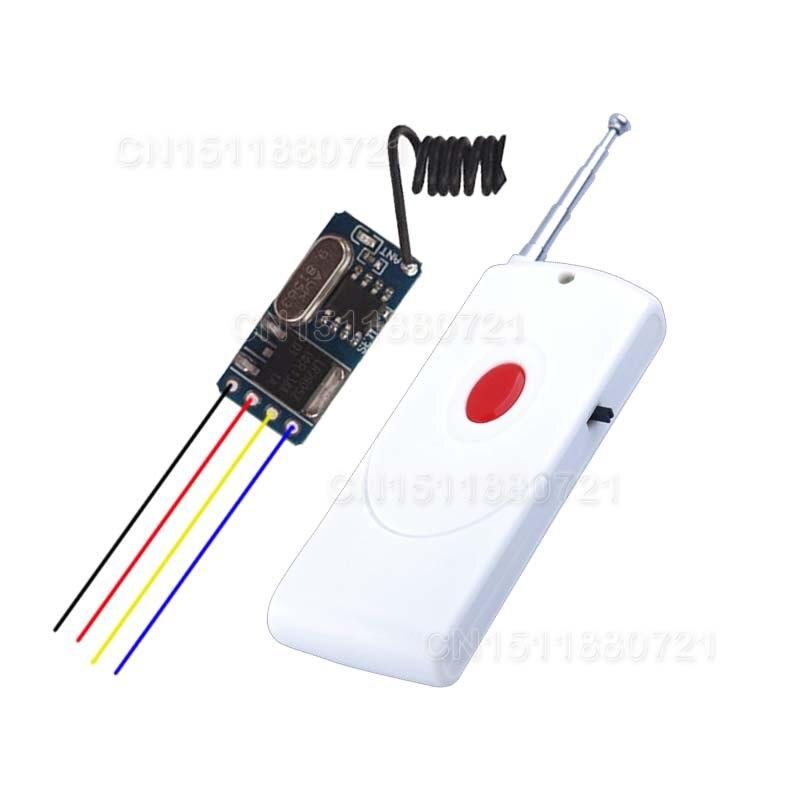 Micro Small Remote Control Switches Lithium Battery DC Power Supply Mini RF Wireless Switch DC 3V 3.7V 5V 6V 9V 12V 315M/433M<br><br>Aliexpress