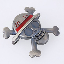 ONE PIECE Monkey D. Luffy Tony Tony Chopper Shield Goat Truing And Dressing Metal Ring Weapon Animation Gifts For Children L587(China)