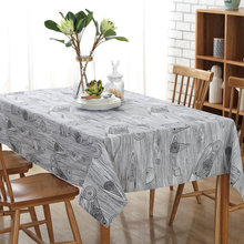 Modern Hot Sale Tablecloths Restaurants Home Hotel Conference Tablecloth Kitchen Cover Towel Gray Table Cloth(China)