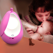 ZINUO DC5V Dimming USB Rechargeable Touch Sensor Night Light Bedroom Bedside Mini Lamp For Baby Feeding Sleep light Led Gift