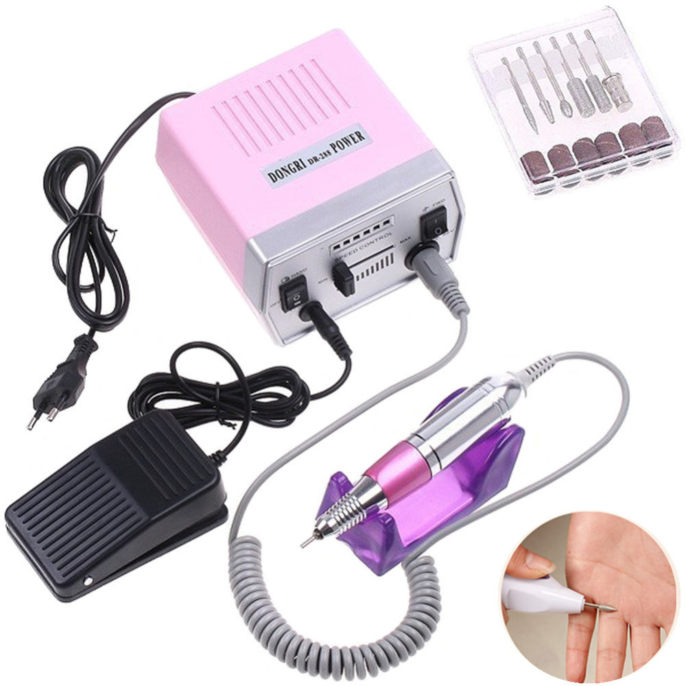 Pro Nail Art Equipment Manicure Tools Pedicure Acrylics Electric Nail Drill Pen Machine Set Beauty DIY Tool<br><br>Aliexpress