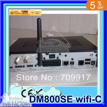 2PCS iTEEVEE Satellte TV Receiver Dm800se cable hd DM800 HD SE Cable tuner DVB-C tuner Enigma 2+300Mbps Wifi