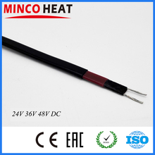 Minco Heat 24V 36V 48V low voltage self-regulating heater freeze protection heat trace heating cable(China)