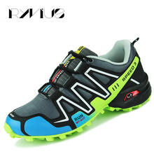 Ryvius Big Size 39-45 Running Shoes Men Outdoor Sports Walking Shoes Speed Cross 3 Sneakers Athletic Superstar Original Jogging