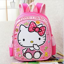 New Backpack Child School Bag Cartoon Hello Kitty Backpack Kid Kindergarten Schoolbag For Kid Mochila Infantil