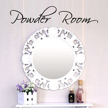 Brand new 50*10CM Powder Room Goodnight Home Wall Sticker Decal Bedroom Vinyl Art Mural ative adesivo de parede(China)