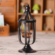 2017 Vintage Metal Candlesticks candle Holders Hollow Hanging Lantern  Candle Holder  Candlestick Garden Home Decor