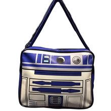 Comics Marvel Anime Starwar Messenger Bags Movie Star Wars Printed Leather Shoulder Bag bolsa feminina Fashion Casual Men Purse(China)
