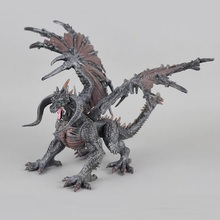 1pcs DIY tiamat toy dragons with wings classic toys for boys children dinosaur action figures without retail box(China)