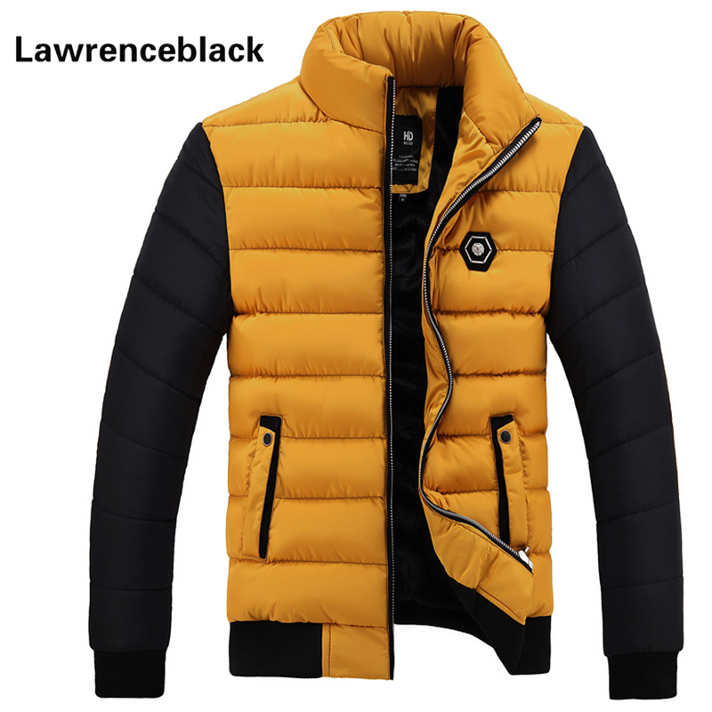 Men Down Jacket Thick Warm Padded Coat 2016 Brand Parka Men Winter Jacket Fashion Quality Down Parka Solid Cotton Coat Male 85Îäåæäà è àêñåññóàðû<br><br>