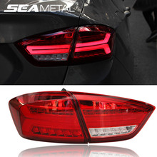 Car Taillight For Chevrolet Cruze 2 2017 2018 Car Tail light Rear Lamp Automobiles Turning+Reversing+Fog+Brake lights Assembly(China)