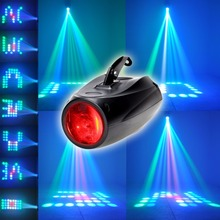 TSSS Auto/Sound Activated 64 LEDs RGBW LED Beam Hundreds of Patterns Stage Lights for Christmas Party Disco Bar Club Wedding DJ