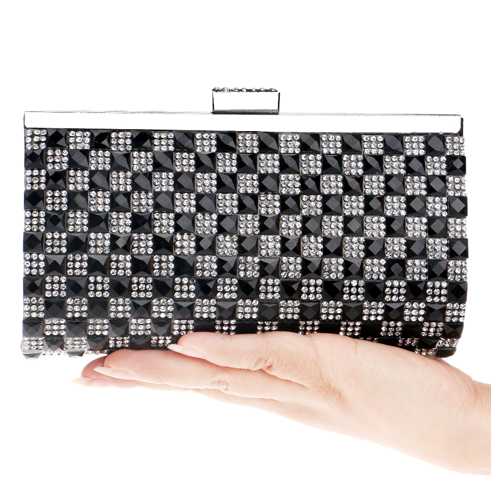 Day clutches handbags acrylic rhinestones women evening bags small purse evening bag for wedding/party bags<br><br>Aliexpress
