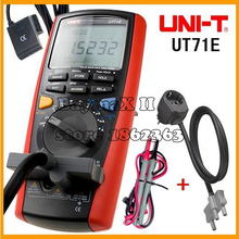UNIT UT71E 39999 Count Intelligent True RMS Digital Multimeter Tester DMM with USB Auto,Data Log,AC/DC Power Cord Socket