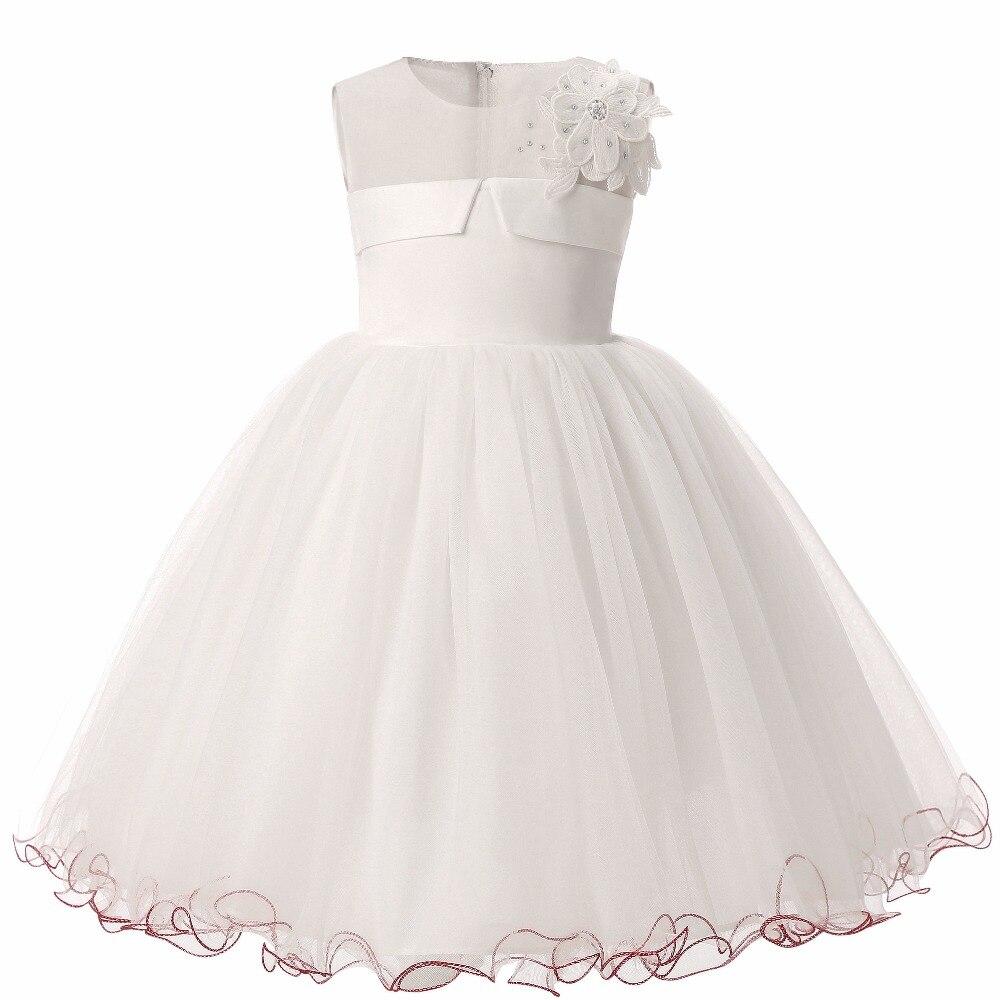 Baptism Princess Girls Wedding dress girl Clothing 2016 new Formal ...