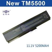 5200MAH 6cell laptop battery 3UR18650Y-2-QC261 CGR-B/6H5 LC.BTP00.001 LIP6220QUPC SY6 for Acer Asprie 3050 3680 5050 5570 5580