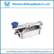250x150mm SS304 Square manhole cover,Stainless steel tank manway(China)