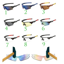 Unisex Cycling Eyewear UV400 Bike Glasses Cycling Sport glasses MTB Bicycle Glasses Motorcycle Sunglasses Oculos Ciclismo(China)