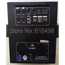 With DSP processor Amplifier Board RMS 600W+600W+1200W professional speaker amplifier plate 3 way 2 input 3 output(China)