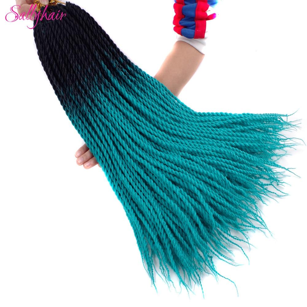 Ombre Color Senegal Twist Braids Crochet Braids Hair Extensions (65)_
