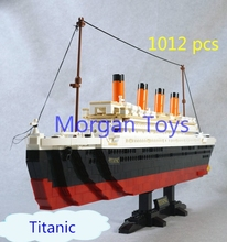 Sluban M38-B0577 Titanic Ship Building Blocks Toys Model Sets Kids Gifts Boys Birthday Gift Compatible with Lepin Free Shipping
