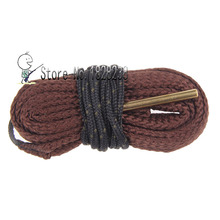 Free Shipping Bore Snake Gun Cleaning .17CAL CF .17HMR .177 Brass Weighted Cord F Rifle/Pistol Shotguns