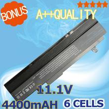 4400mAh Black Laptop battery For Asus Eee PC VX6 1011 1015 1015P 1015PE 1016 1215N 1215B A31-1015  A32-1015 AL31-1015 PL32-1015