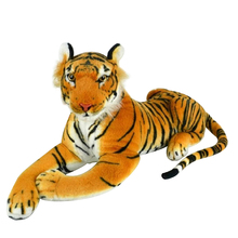 CHILDREN PLUSH ARTIFICIAL SIMULATION Tiger fur FABRIC DOLL TOYS doudous