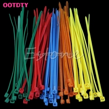 100Pcs 2.5mm x 100mm Universal Nylon Plastic Zip Trim Wrap Cable Ties Hot Sale #G205M# Best Quality