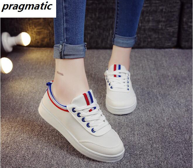 women white Casual canvas shoes Female girls school shoes flats ladies runner Single shoes zapatos mujer 2017 spring new fashion<br><br>Aliexpress
