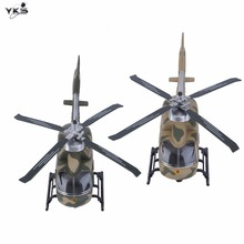 24 CM Alloy Military Helicopter Die casting Plane Metal Pull Back Light and Music Kids Toys Children Aircraft Car New Sale
