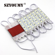 SZYOUMY LED Module 5050 6 LED 6 Light ColorDC12V Waterproof Advertisement Design LED Modules Super Bright Lighting 20PCS/Lot