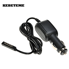 KEBETEME Practical 12V 2A Cable Car Charger Power Adapter Supply for Microsoft Surface RT RT2 10.6 Tablet(China)