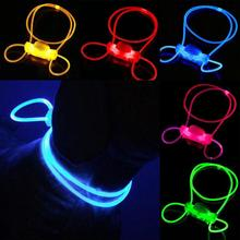 LED Light Up Dog Pet Teddy Puppy Night Safety Bright Luminous Adjustable Collar Leash Products High Quality