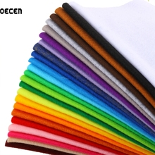 Buy 24Color Mix 1.5 MM Thickness Soft Nonwoven Polyester Felt Fabric DIY Felt Fabric Crafts Decor Mixed Color 30X30CM 24pcs/Pack for $12.28 in AliExpress store