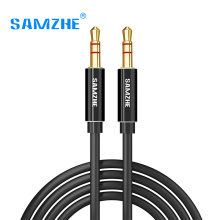 SAMZHE Jack 3.5 mm Aux Audio Cord Car Amplifier Aux Cable for Music Player Phone Headphone Laptop Map Navigation
